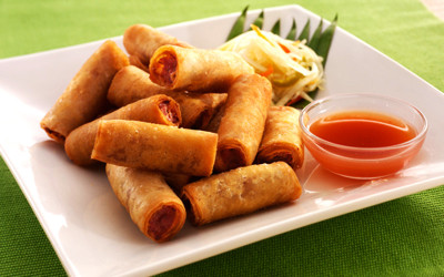 Shrimp & Pork Lumpia