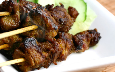 Indonesian Meat Kabobs
