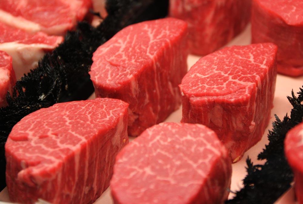 Fresh cut meat in Denver